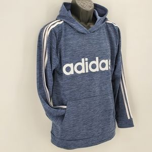 Adidas Fleece Lined Pullover Hoodie 18/20 NWT